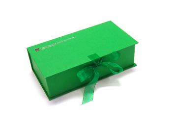 cutie-funda-cadou-verde