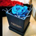 cutie de trandafiri sau bijuterii din mucava lux