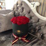 cutie de flori rotunda11